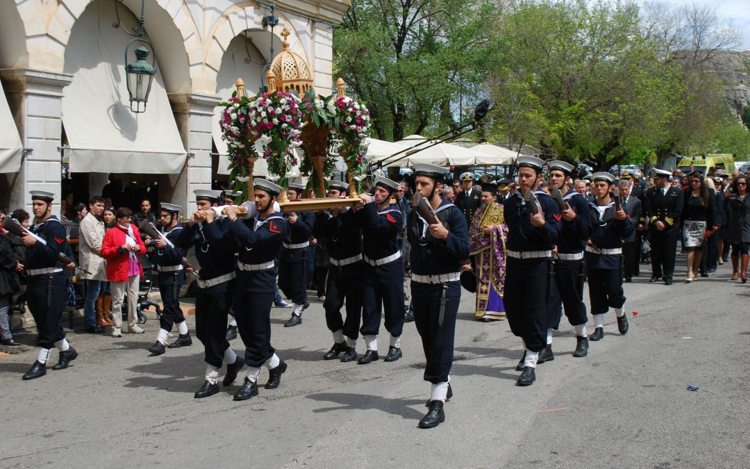 Corfu Easter – Good Friday Celebrations