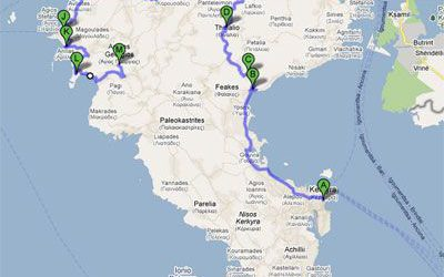 Rent a car and explore Corfu – Itinerary 2