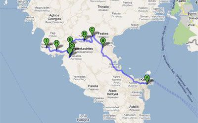 Rent a car and explore Corfu – Itinerary 3