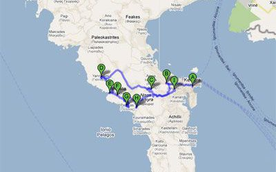 Rent a car and explore Corfu – Itinerary 4