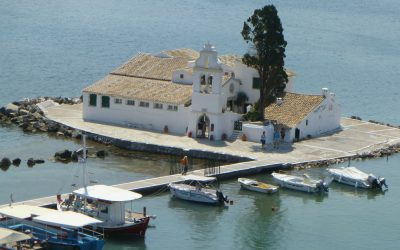The Ionian Island of Corfu, a cultural melting pot