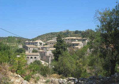 Old Peritheia Corfu