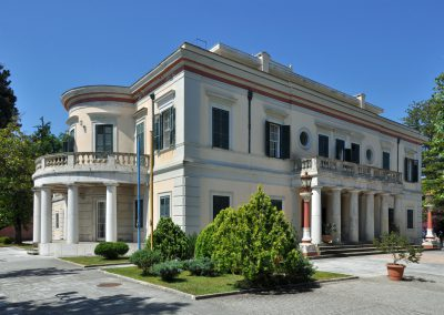 Paleopolis and Mon Repos mansion on Corfu