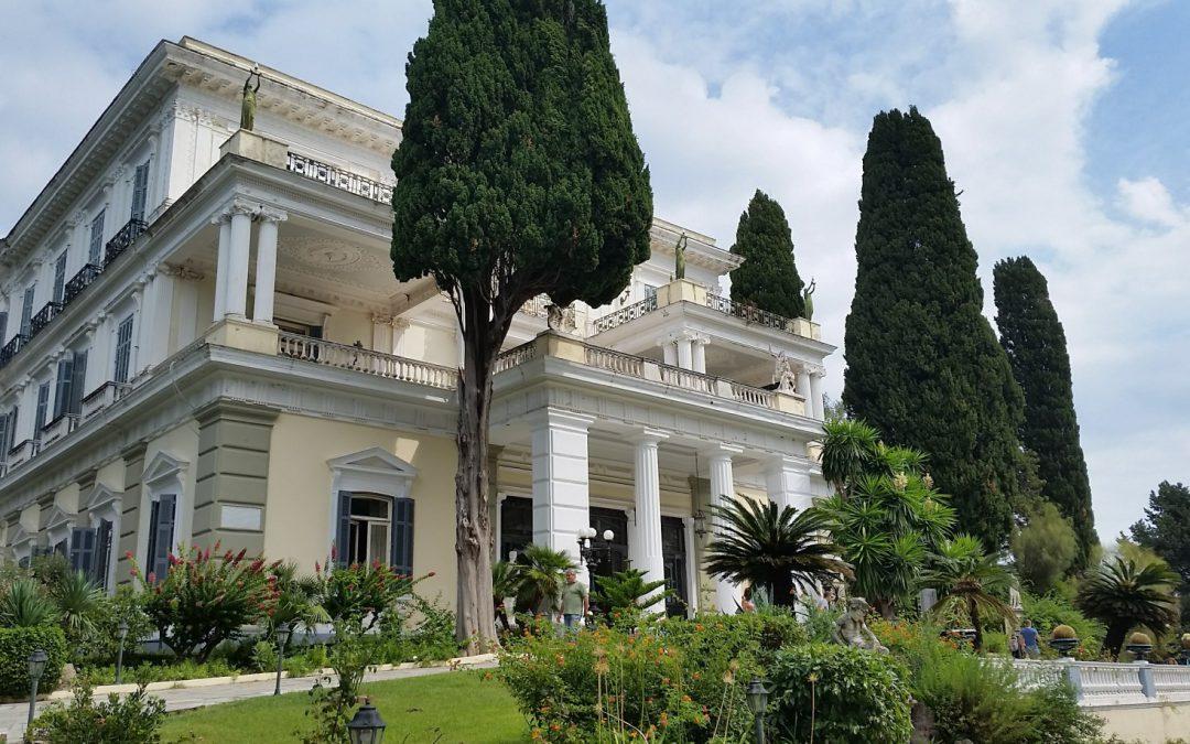 The Achilleion in Corfu, Greece