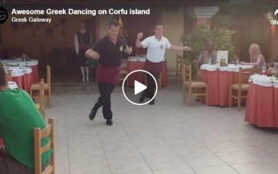 Awesome Greek Dancing on Corfu island